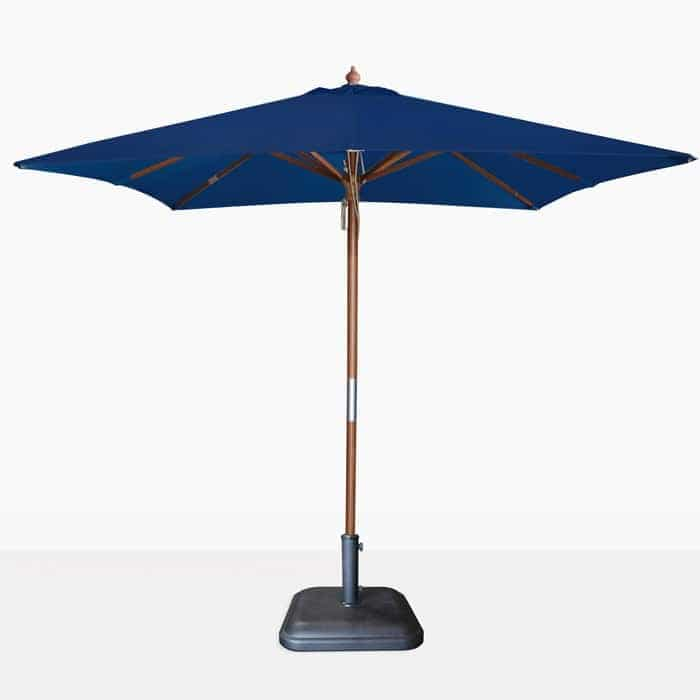 Dixon Dark Blue Square Outdoor Umbrella