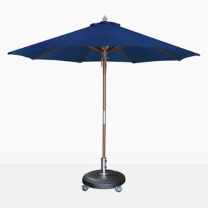 Dixon Market Olefin Round Dark Blue Patio Umbrella