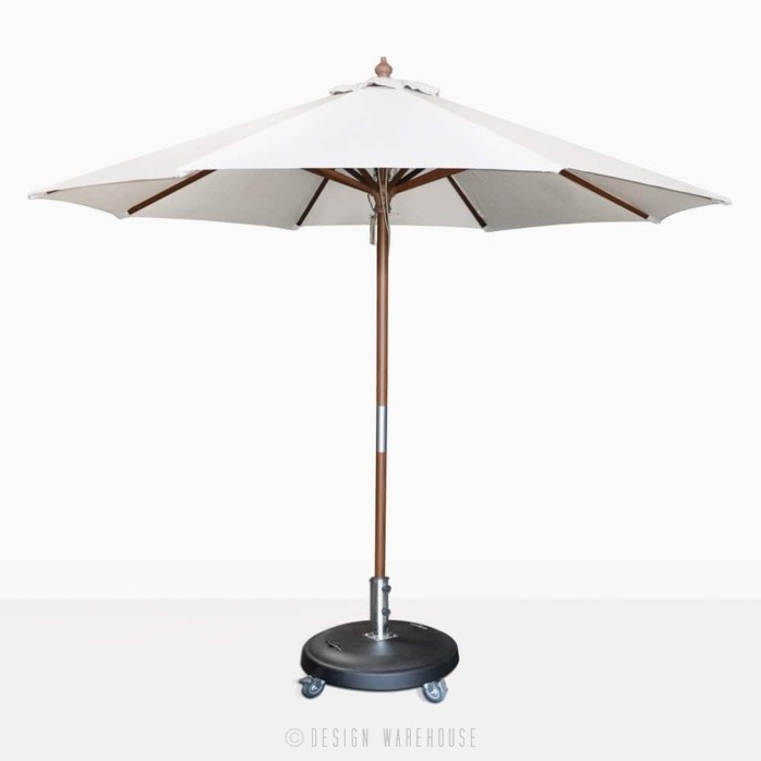 Dixon sunbrella round umbrella in canvas