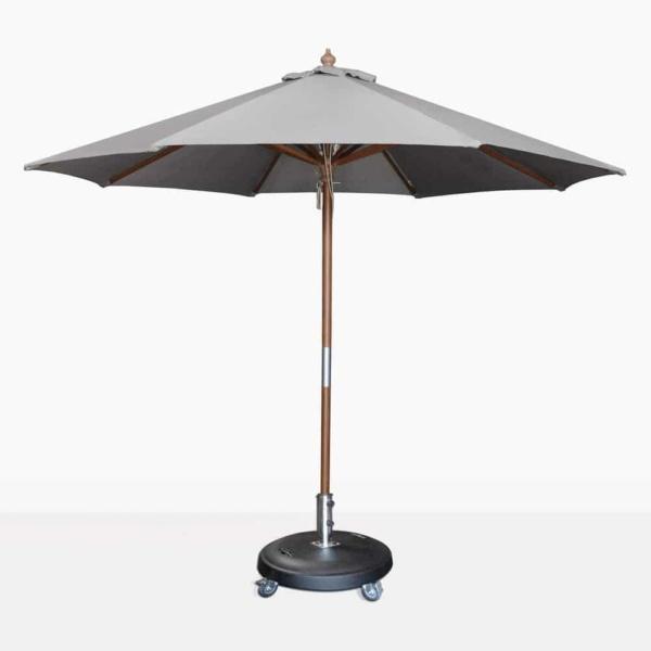 Dixon sunbrella round umbrella in graphite