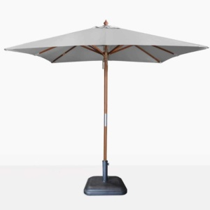 square sunbrella umbrella in graphite