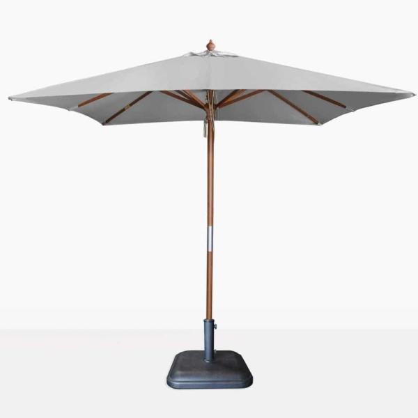 square sunbrella umbrella in graphite