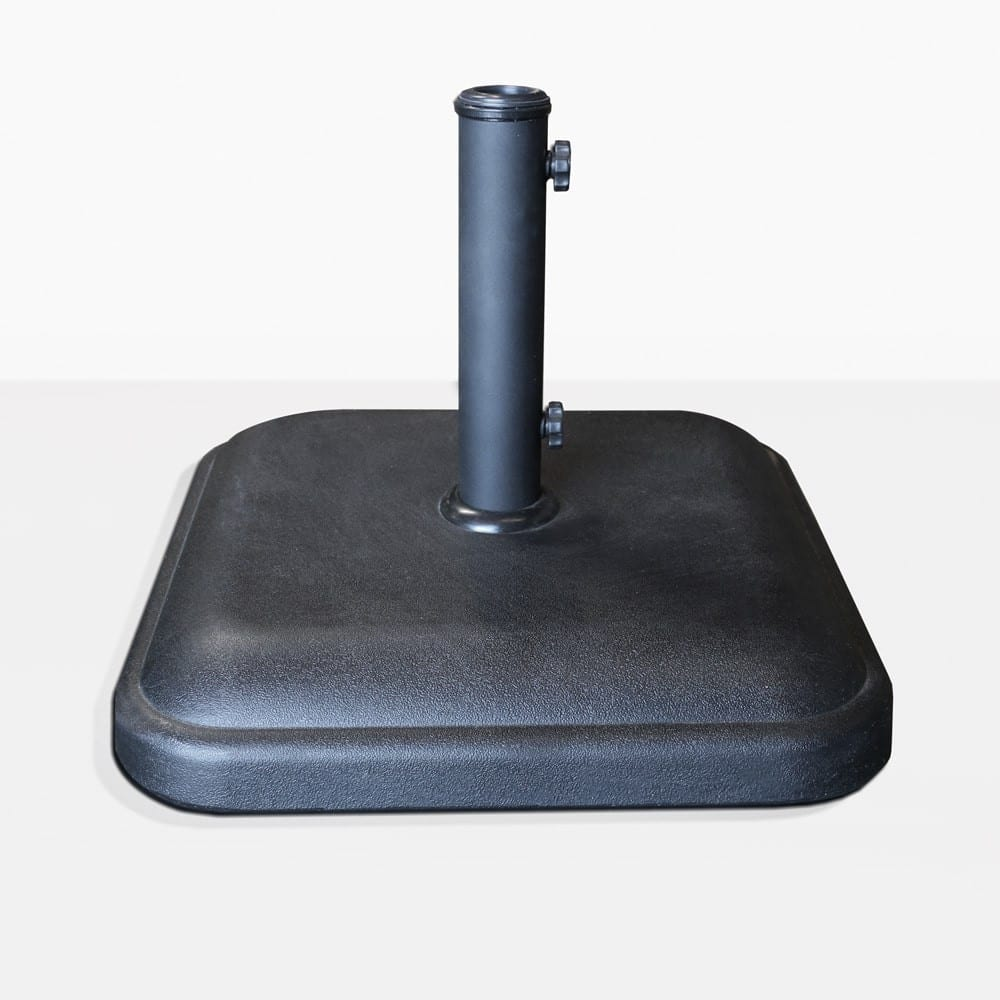 Mason concrete umbrella stand square