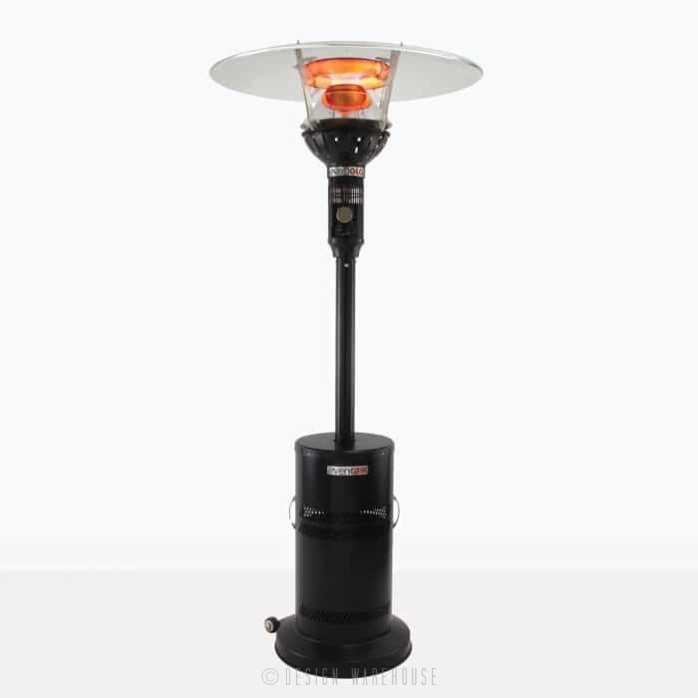 Even Glo Outdoor Heater in black