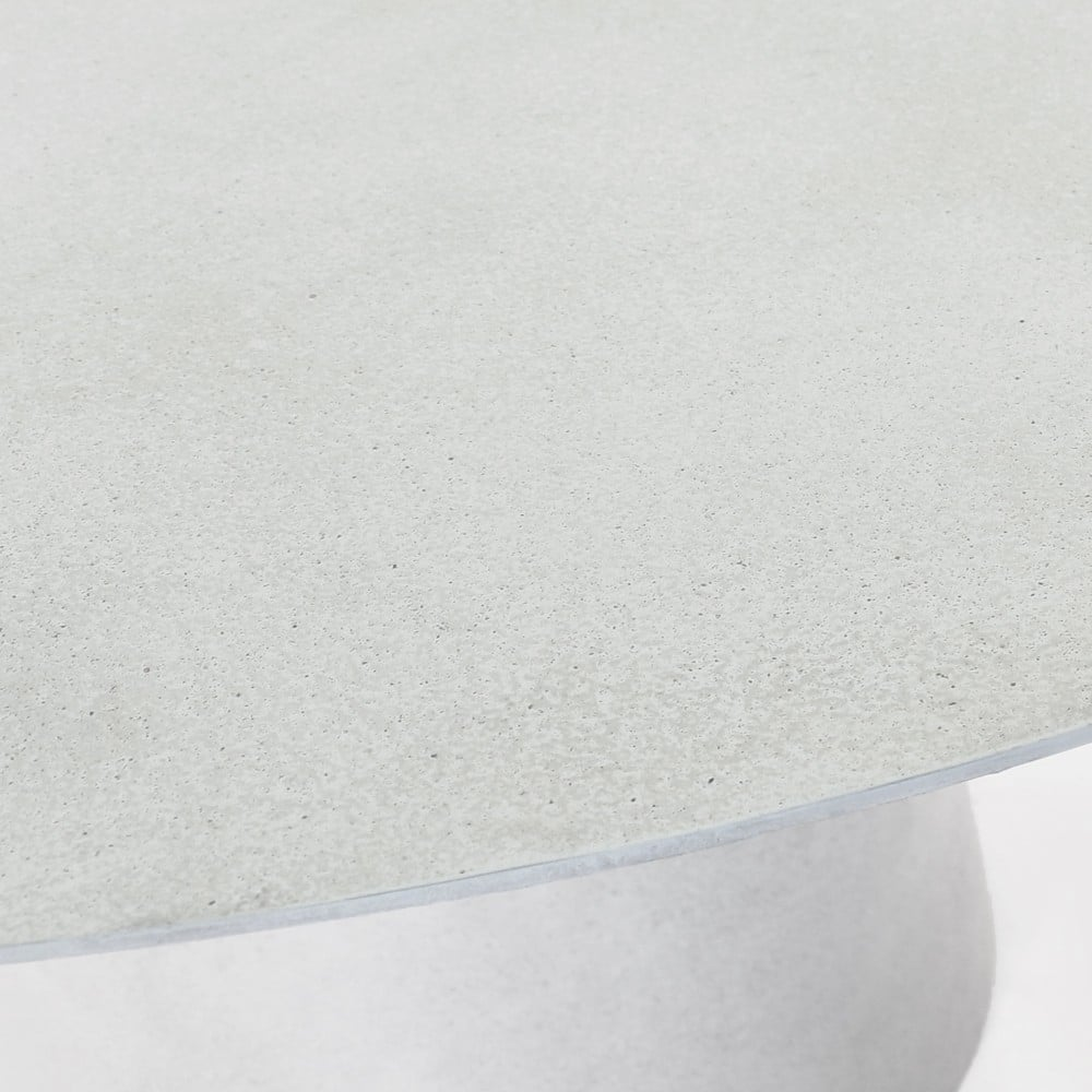 Holly Concrete Dining Table Closeup
