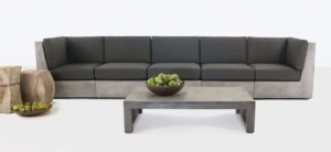 Box Concrete Outdoor Seating