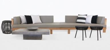 Cabo Teak Sectional Sofa