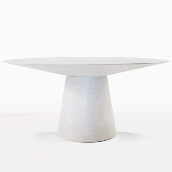 Holly Concrete Round Dining Table
