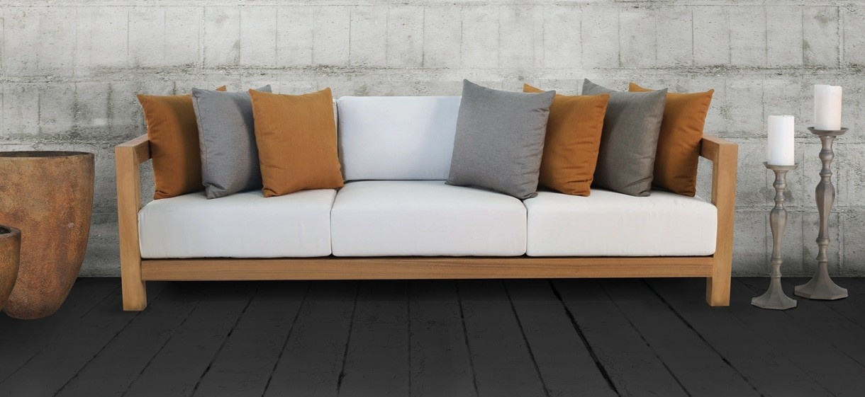 Ibiza Outdoor Teak Sofa