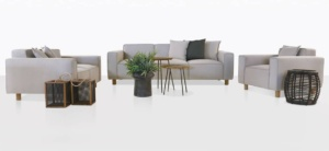 straight view james outdoor furniture collection
