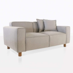 angle james outdoor loveseat