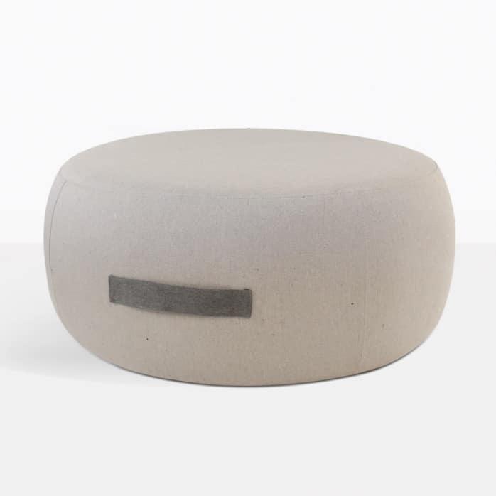 Jelli Round Ashe Ottoman