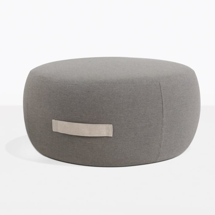 Jelli Round Ottoman With Handle