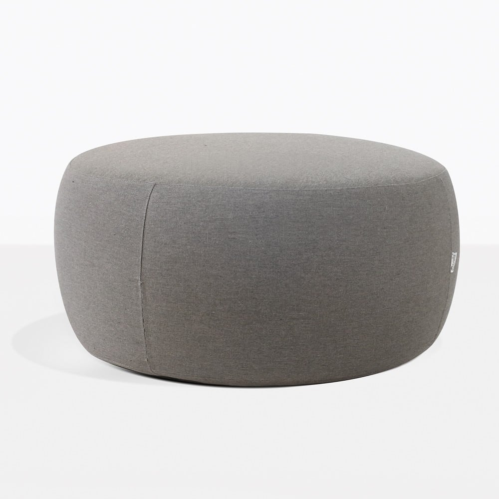 Jelli Round Charcoal Outdoor Ottman