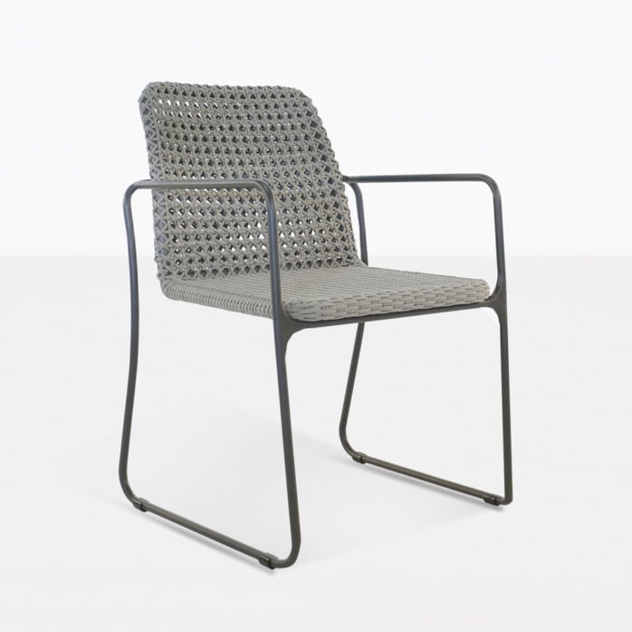 Kelli Rope Dining Chair Angle