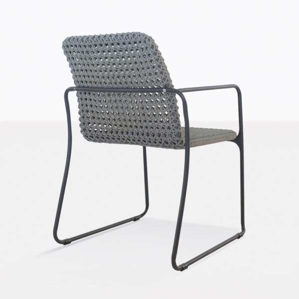 Kelli Rope Dining Chair Back