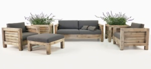 Lodge Reclaimed Teak Outdoor Seating