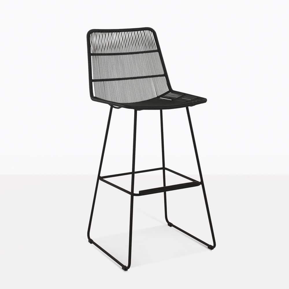 Restaurant Furniture Nairobi : Nairobi black outdoor bar stool pub furniture design