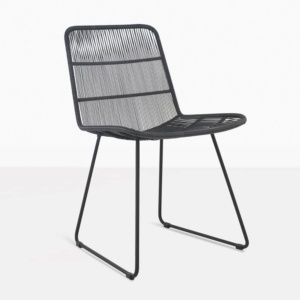 Nairobi Side Dining Chair Black