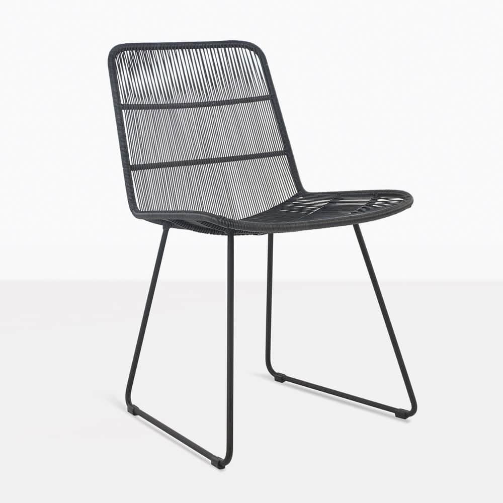 Nairobi Side Dining Chair Black
