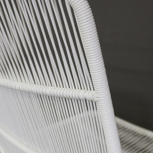 Nairobi String Dining Chair in White