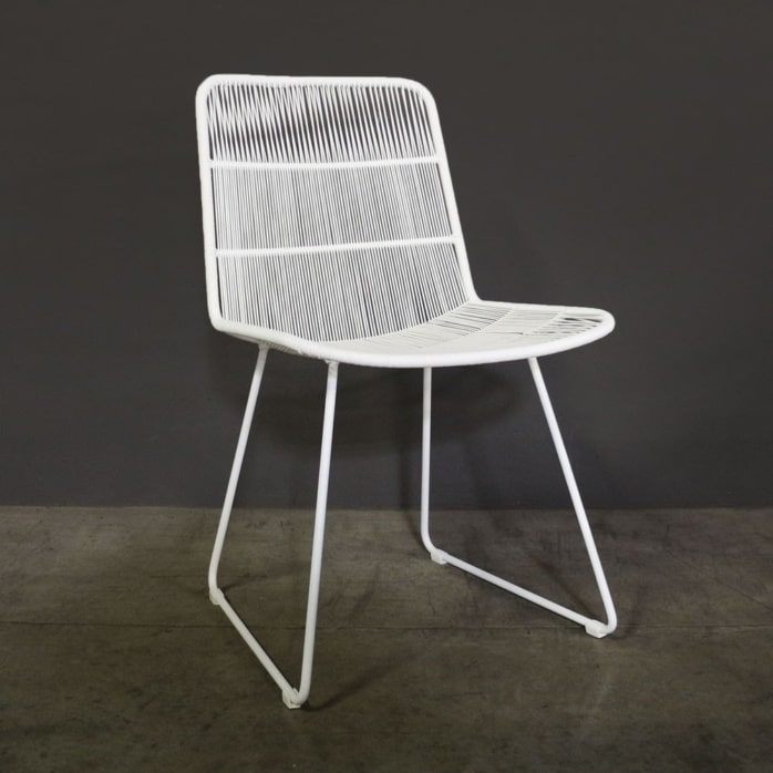 Nairobi White Outdoor Dining Chair