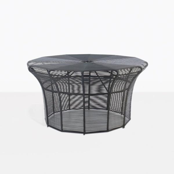 black coffee table - poppi table