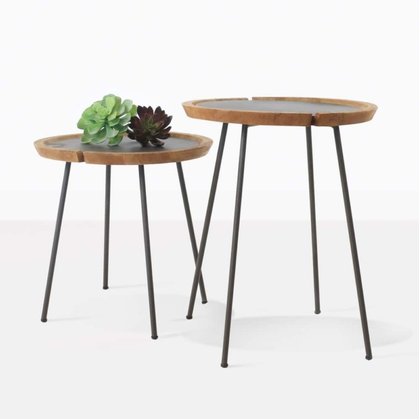 two accent tables - sheeba