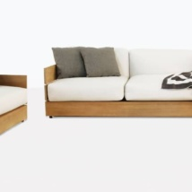 Soho Grande Teak Deep Seating