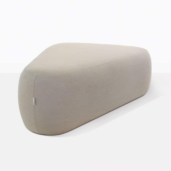Tibbi Sunbrella® Fabric Covered Ottoman