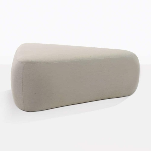 Tibbi Outdoor Ottoman Side