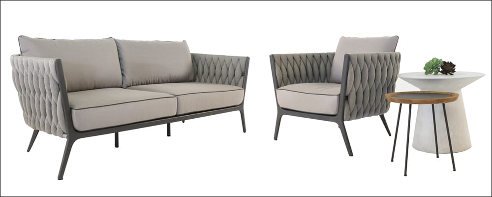 Bianca Outdoor Sofa and Lounge Chair
