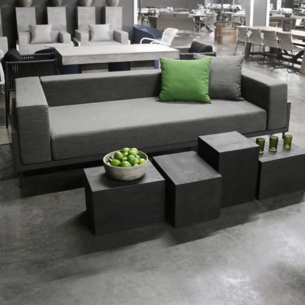 Kobi deep seating sofa in coal