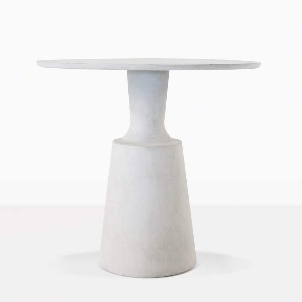 concrete outdoor dining table. Nicki Concrete Outdoor Dining Table E