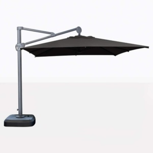 Bahama Square Cantilever Patio Umbrella In Black