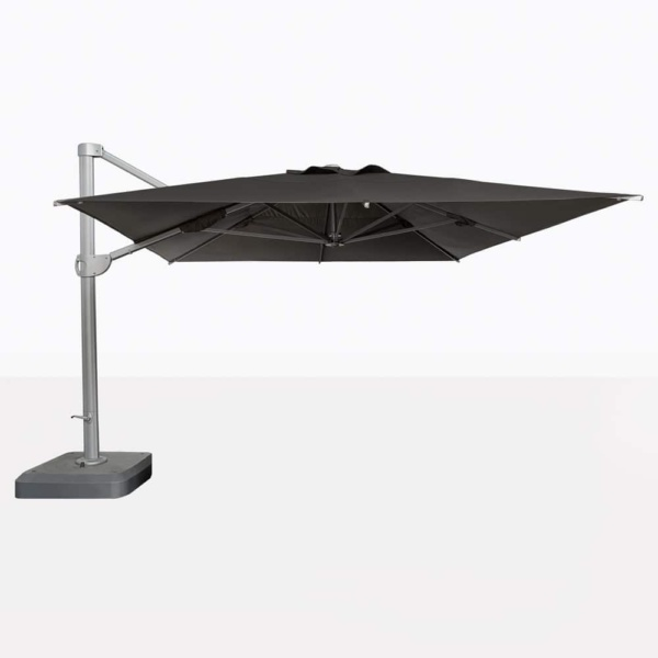 Bahama Square Cantilever Patio Umbrella In Black