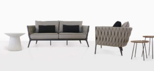 Bianca Outdoor Sofa and Club Chair