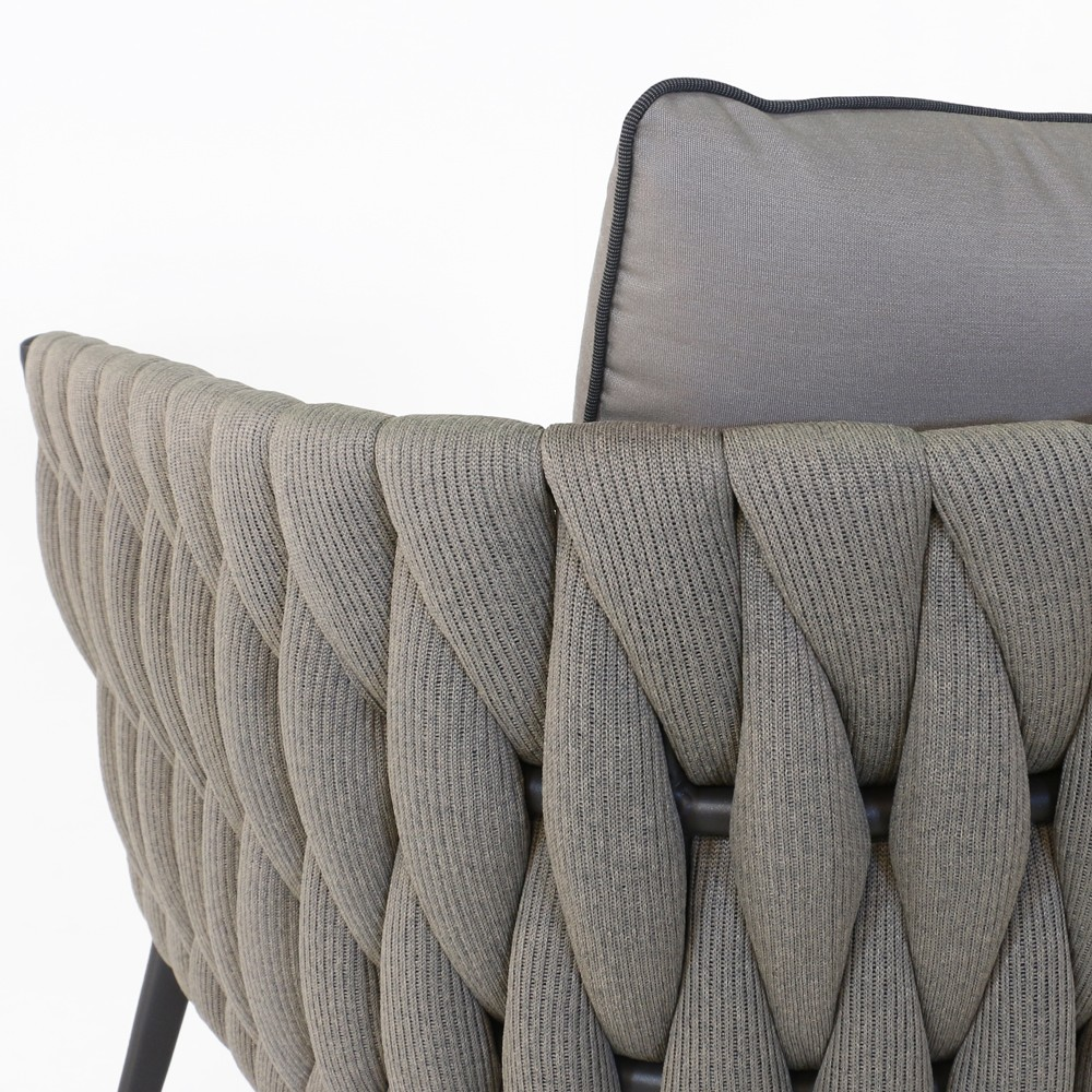 Bianca Outdoor Rope Sofa Deep Seating Patio Couches