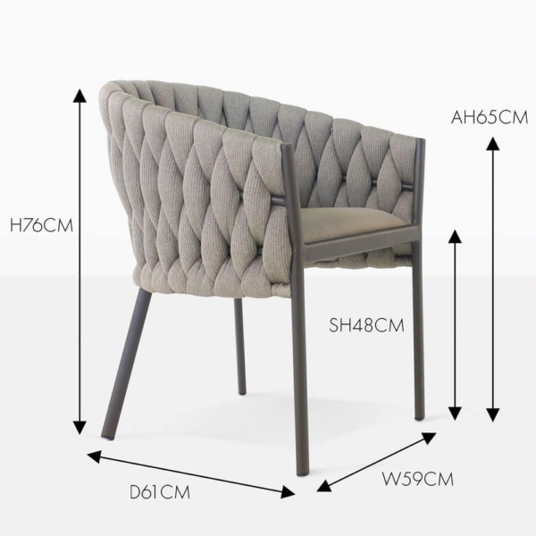 Bianca Outdoor Dining Chair
