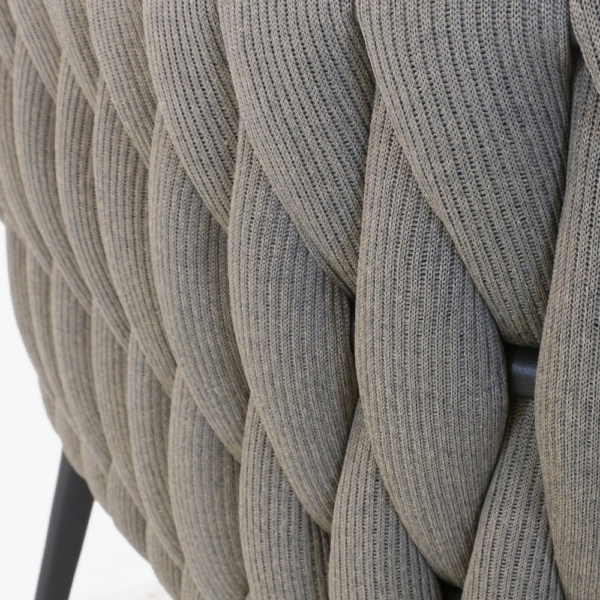 Bianca Dining Chair Rope Closeup