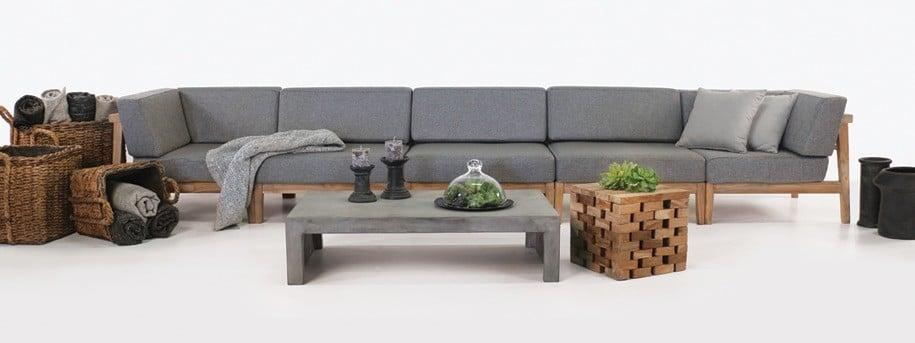 Copenhague Teak Sectional Sofa