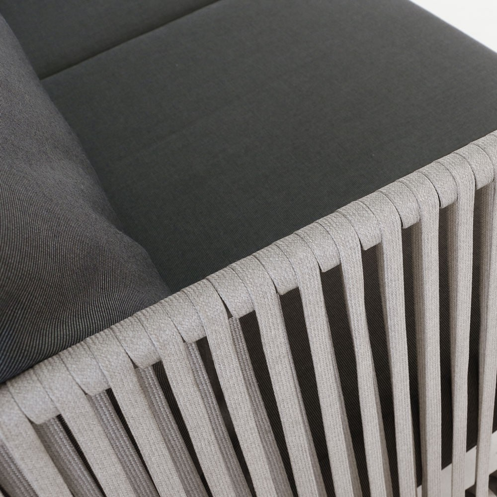 Fontana Outdoor Rope Club Chair Patio Seating Design