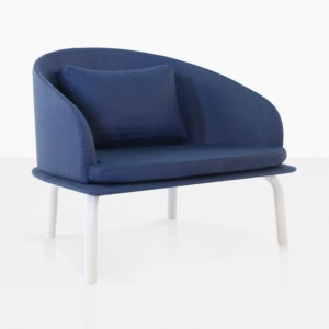 modern blue chair - kobii