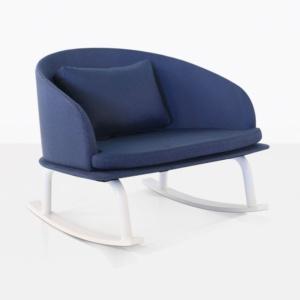rocking chair - blue kobii