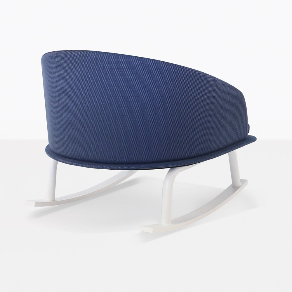 Kobii Blue Rocking Chair