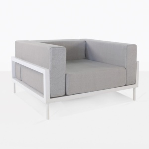 club chair - kobii in gray