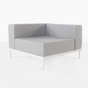 cornner chair - kobii in grey