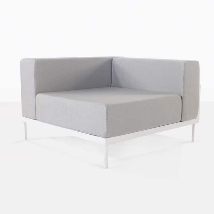 cornner chair - kobii in grey