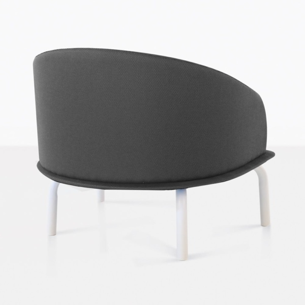 Kobii Grey Retro Outdoor Louge Chair