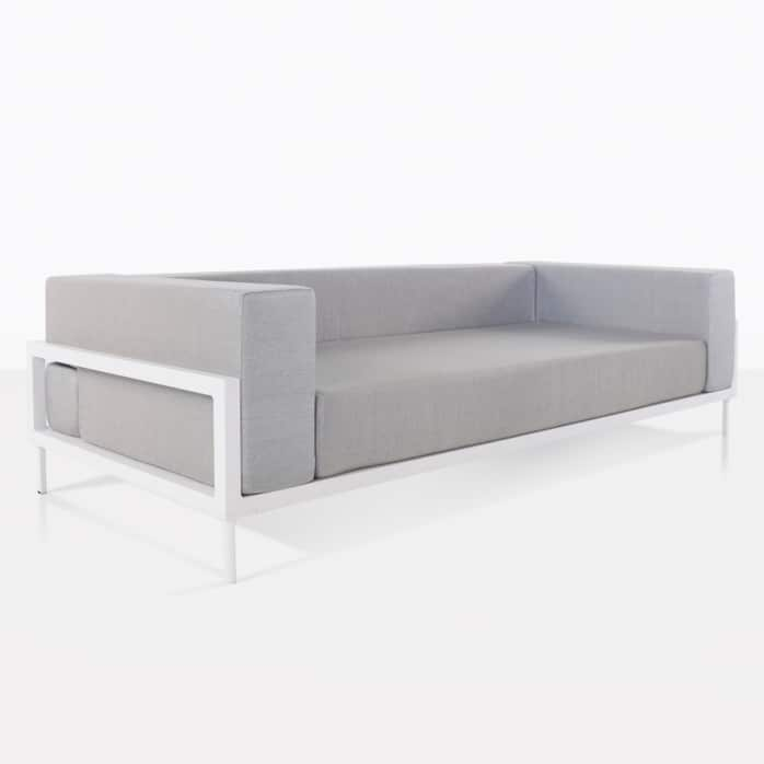 kobii sofa - grey angle view